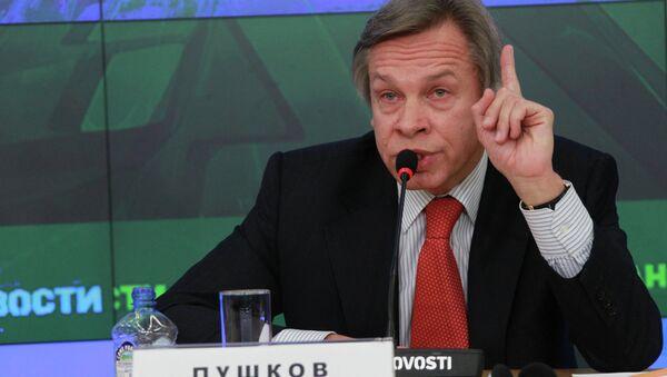 Duma Dış İlişkiler Komitesi Başkanı Aleksey Puşkov - Sputnik Türkiye