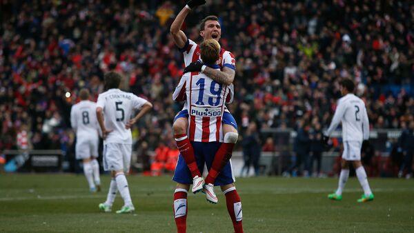 Atletico Madrid-Real Madrid - Sputnik Türkiye