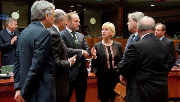 AB dışişleri bakanları toplantısı  - Avrupa Rusya yaptırım - Sputnik Türkiye