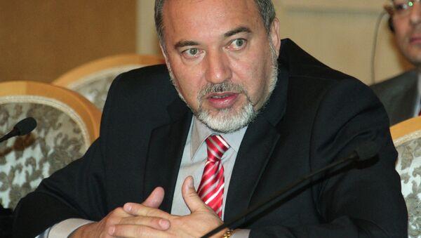 İsrail Dışişleri Bakanı Avigdor Liberman - Sputnik Türkiye