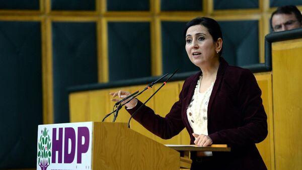 HDP Eş Genel Başkanı Figen Yüksekdağ - Sputnik Türkiye