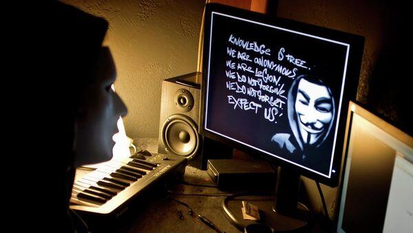 Hacker grubu Anonymous - Sputnik Türkiye