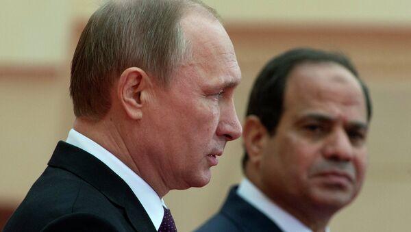 Vladimir Putin-Abdülfettah El Sisi - Sputnik Türkiye