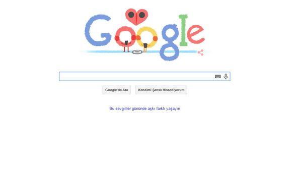 Google Sevgililer Günü logosu - Sputnik Türkiye