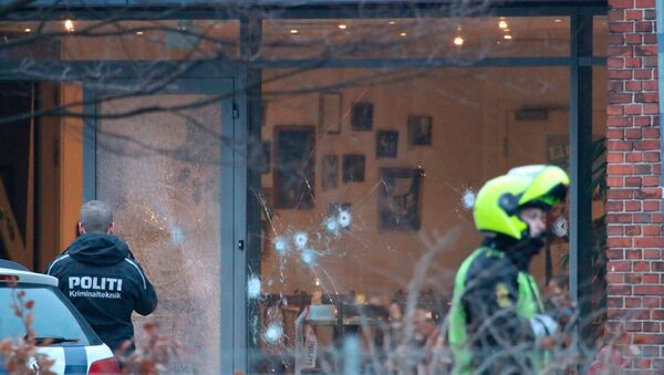 Danimarka'da Charlie Hebdo toplantısına saldırı - Sputnik Türkiye