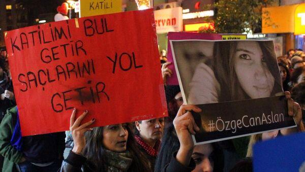 Özgecan Aslan cinayeti - Sputnik Türkiye