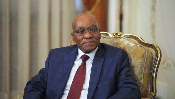Güney Afrika Devlet Başkanı Jacob Zuma - Sputnik Türkiye