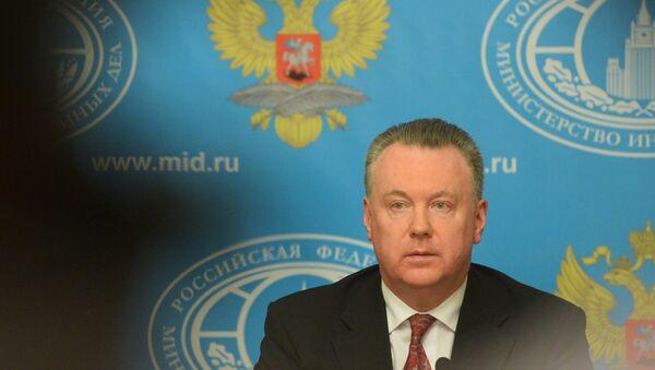 Rusya'nın Avrupa Güvenlik ve İşbirliği Teşkilatı (AGİT) Daimi Yetkilisi Aleksandr Lukaşeviç - Sputnik Türkiye