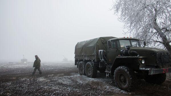 Debaltsevo yakınlarında - Sputnik Türkiye
