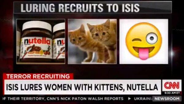 CNN- IŞİD - Sputnik Türkiye