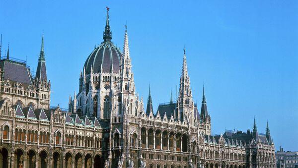 Budapeşte'de Parlamento binası - Sputnik Türkiye