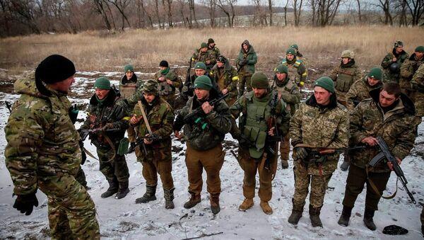 Ukrayna askerleri - Sputnik Türkiye