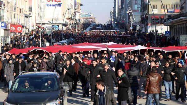 Ege Üniversitesindeki gerginlik - Sputnik Türkiye
