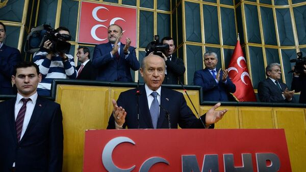 MHP Genel Başkanı Devlet Bahçeli - Sputnik Türkiye