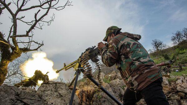 Suriye ordusu askeri - Sputnik Türkiye