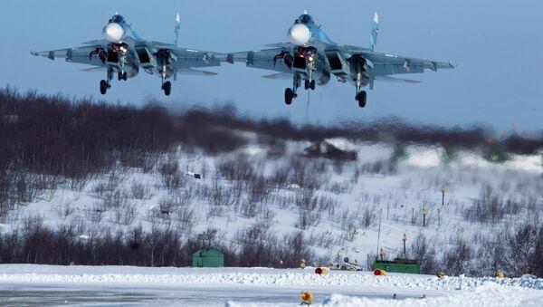 Su-33 savaş uçakları - Sputnik Türkiye