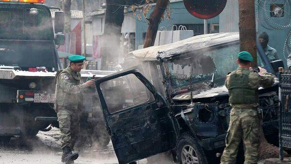 Afganistan'da intihar saldırısı - Sputnik Türkiye