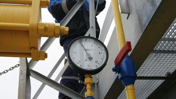Gazprom'un gaz istasyonu - Sputnik Türkiye