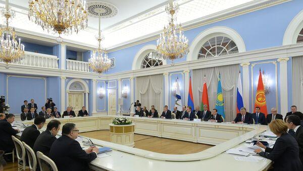 Avrasya Ekonomik Birliği (AEB) toplantısı - Sputnik Türkiye