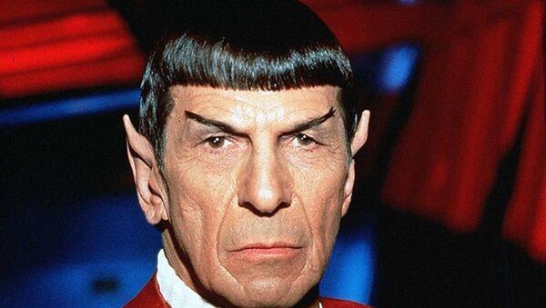 Mr. Spock'u canlandıran Amerikalı aktör Leonard Nimoy - Sputnik Türkiye