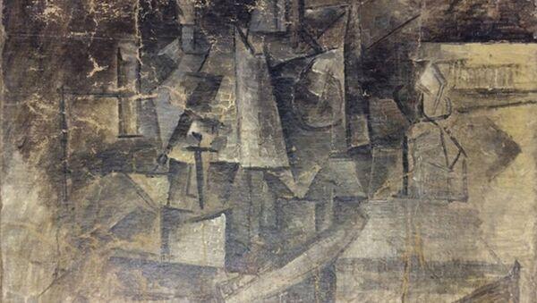 Picasso tablosu - Sputnik Türkiye