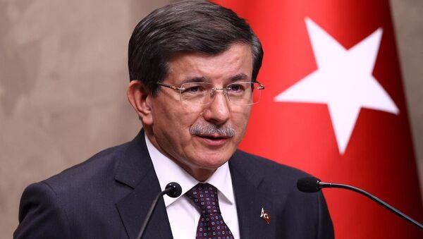Başbakan Ahmet Davutoğlu - Sputnik Türkiye