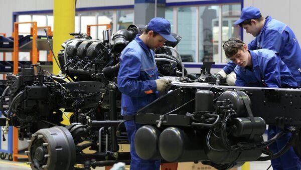 Mercedes Benz fabrikası - Sputnik Türkiye