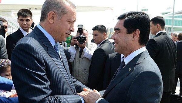 Türkmenistan Devlet Başkanı Berdimuhammedov - Sputnik Türkiye