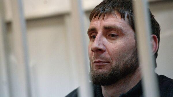 Nemtsov cinayeti zanlısı Zaur Dadayev - Sputnik Türkiye