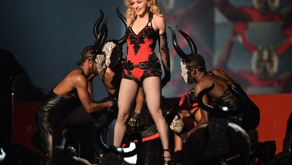 ABD'li şarkıcı Madonna - Sputnik Türkiye
