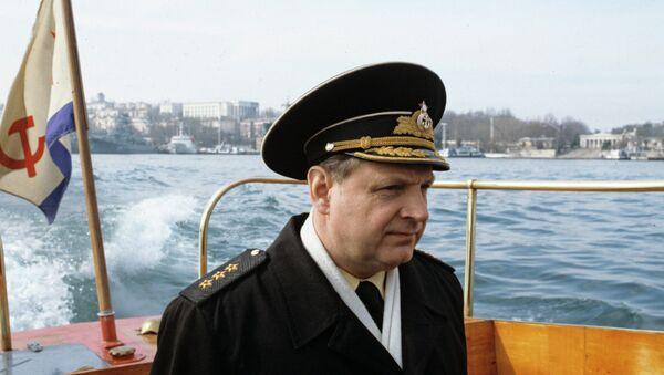 Rusya Karadeniz Filosu eski komutanı Amiral İgor Kasatonov - Sputnik Türkiye