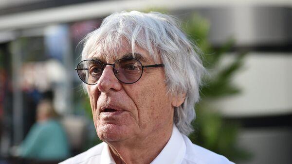 Formula 1 Başkanı Bernie Ecclestone - Sputnik Türkiye