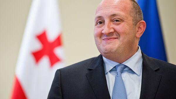Gürcistan Devlet Başkanı Georgiy Margvelaşvili - Sputnik Türkiye