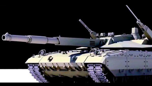 Russia'nın T-14 Armata Ana Muharebe Tankı (Youtube videosundan bir kesit, temsili resim) - Sputnik Türkiye