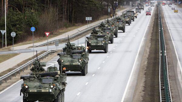 ABD'nin 'Dragoon Ride' konvoyu - Sputnik Türkiye