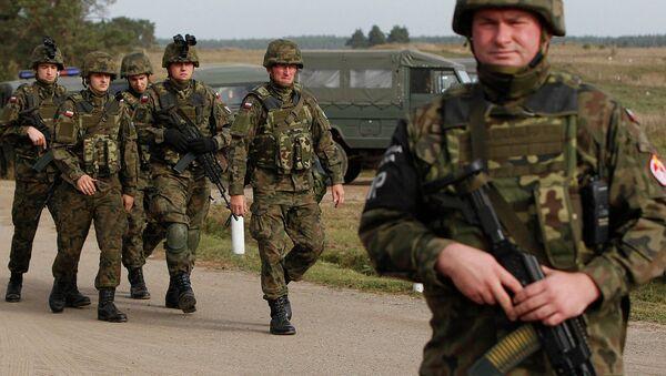 Polonya askerleri - Sputnik Türkiye