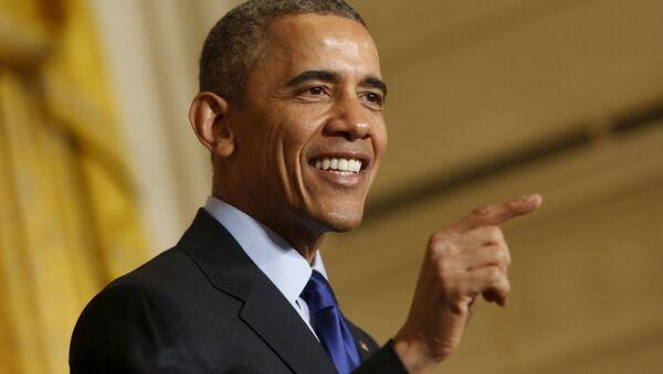 ABD Başkanı Barack Obama - Sputnik Türkiye