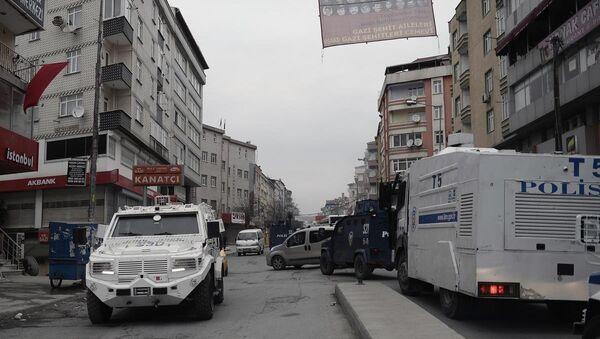 Gazi Mahallesi'nde operasyon - Sputnik Türkiye