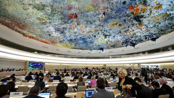 BM İnsan Hakları Konseyi - Sputnik Türkiye