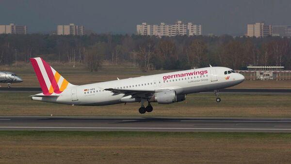GermanWings havayolu - Sputnik Türkiye