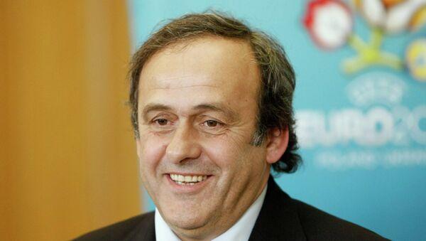 UEFA Başkanı Michel Platini - Sputnik Türkiye