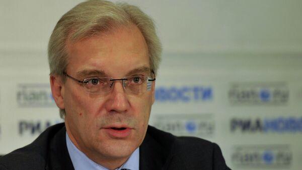 Rusya'nın NATO Daimi Temsilcisi Aleksandr Gruşko - Sputnik Türkiye
