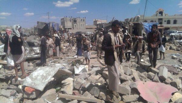 Yemen'de çatışmlar - Sputnik Türkiye