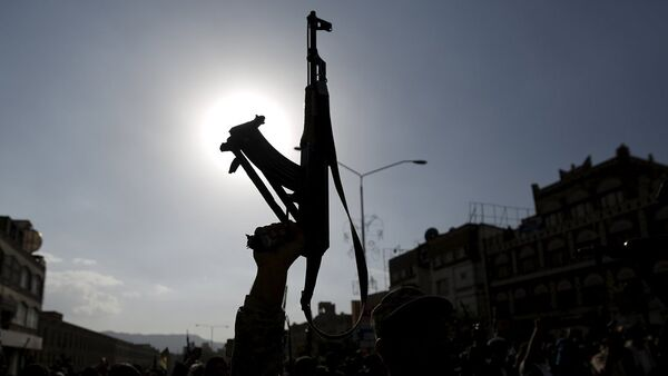 Yemen'de Husiler - Sputnik Türkiye