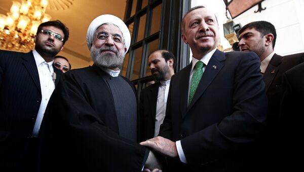 Recep Tayyip Erdoğan- Hasan Ruhani - Sputnik Türkiye