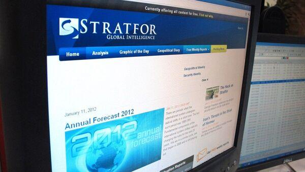 ABD merkezli düşünce kuruluşu Stratfor - Sputnik Türkiye