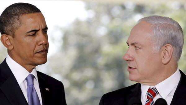 ABD Başkanı Barack Obama- İsrail Başbakanı Benyamin Netanyahu - Sputnik Türkiye