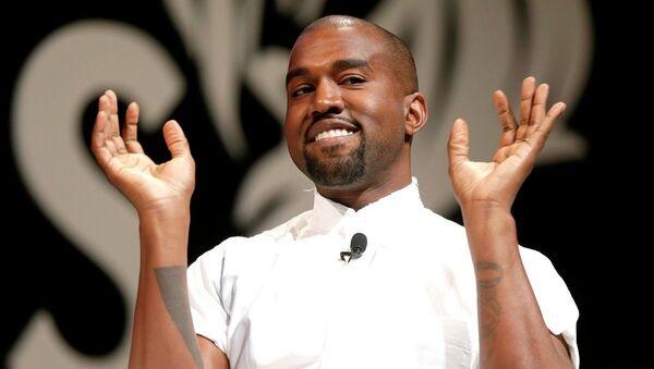 Rapçi Kanye West - Sputnik Türkiye