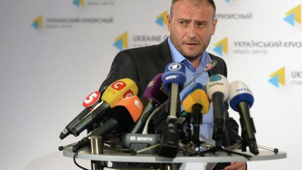 Sağ Sektör lideri Dmitriy Yaroş - Sputnik Türkiye