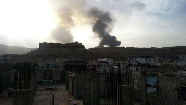 Yemen'de petrol tesisi vuruldu - Sputnik Türkiye